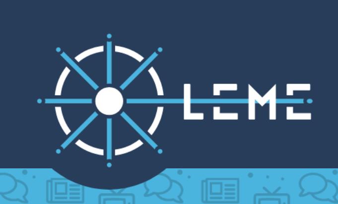 Plataforma LEME - Literacia e Educação Mediática em Linha
